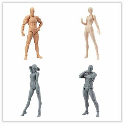 Drawing Figures For Artists Action Figure Model Mannequin Man / Woman 2Colors US