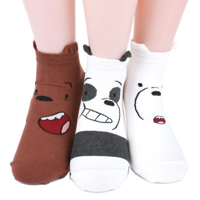 We Bare Bears socks Women