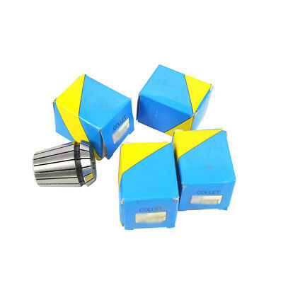 5 Pieces Super Precision Er20 18 Collet Chuck Mill Cnc Collet Set