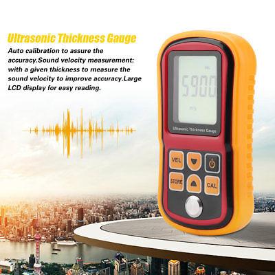 (GM100 Digital Ultrasonic Thickness Tester Sound Velocity Gauge Meter 1.2~220mm S)