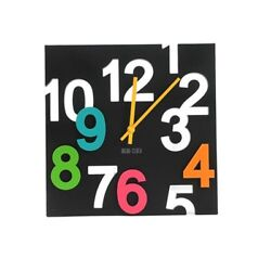 Wall Clock Europe Style 3d Hanging Modern Novelty Decoration Surface Home Decor