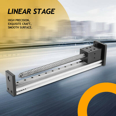 Precision Manual Sliding Table Ball Screw Linear Stage Slide 1502501000mm Us