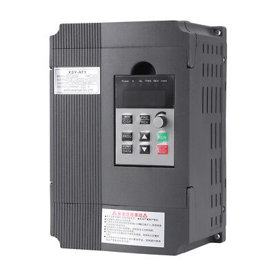 Single To 3-phase Motor Governor Variable Frequency Drive Inverter Cnc 220v380v