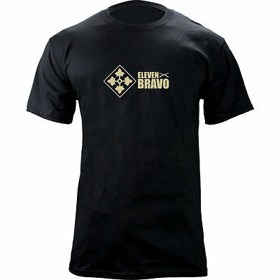 Original Army 4th Infantry Division 11 Bravo Infantry - 4th Infantry Division T-shirt