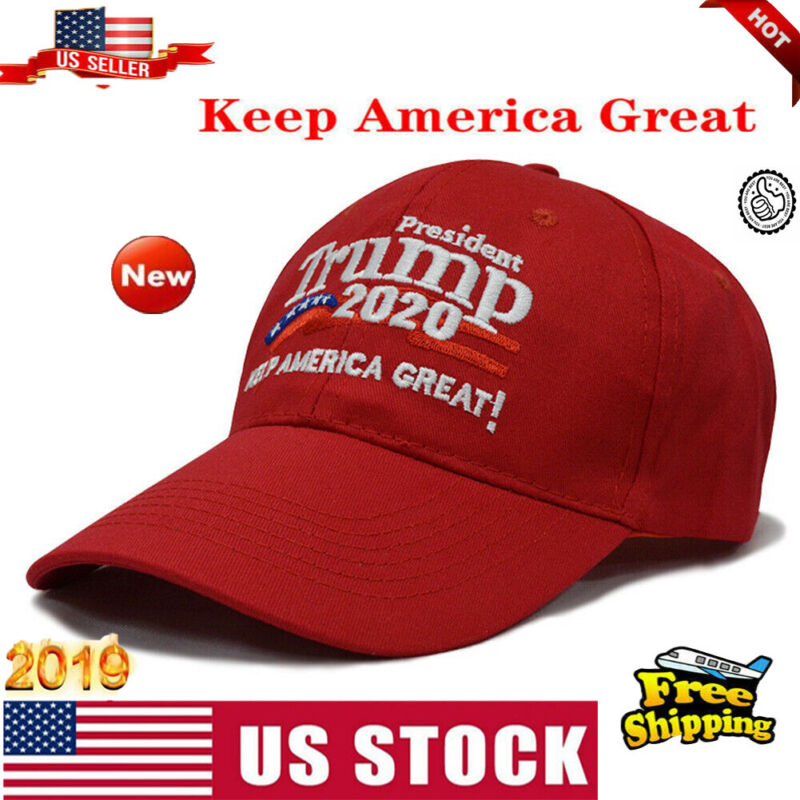 Trump 2020 Winner Hat Keep America Great Cap President Election Embroidered Hats