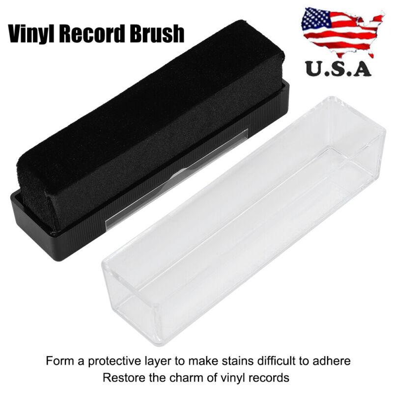 Vinyl Record Brush Cleaner Cleaning Brush Dust Remover for Vinyl Record Player