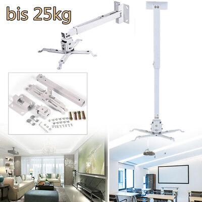 Projektor Beamer Halterung Wandhalterung Deckenhalterung Schwenkbar max.25 kg