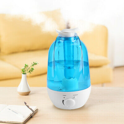 4L Ultraschall Luftbefeuchter Raumbefeuchter Air Diffusor LED-Licht Humidifier