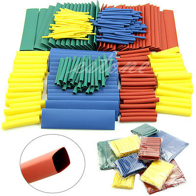 260pcs 8size Assortment 21 Heat Shrink Tubing Tube Sleeving Wrap Wire Cable Kit
