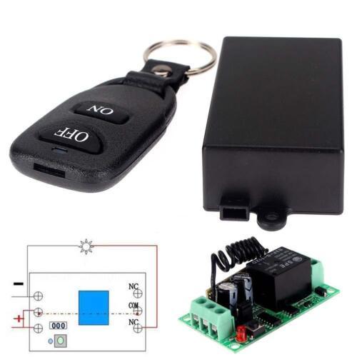 DC 12V 10A Relay 1CH Wireless RF Remote Control Switch Transmitter + Receiver GA