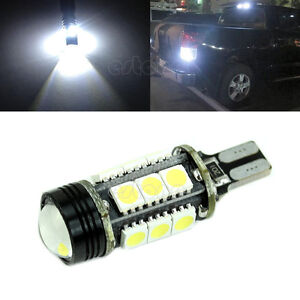 12W-HID-White-921-T15-Backup-Reverse-LED-Lights-Projector-Lens-Bulbs-White