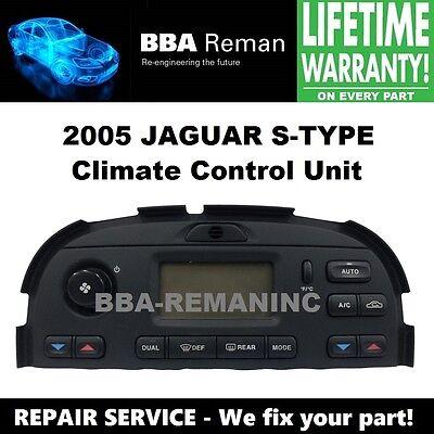 2005 Jaguar Climate Control Heater AC Head Repair Service 05