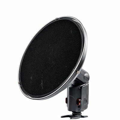 New Godox AD-S3 Beauty Dish with Grid for WITSTRO Speedlite Flash AD180 AD360