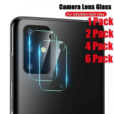 For Samsung Galaxy S20 S20 Plus Full Cover Tempered Glass Camera Lens Protector