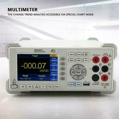 Owon Xdm3041 4 12 Digit Dual-display Usb Rs232 Lan Bench Multimeter