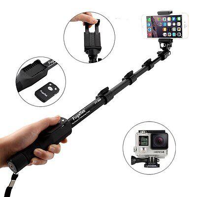 (Fugetek FT-568 Bluetooth Selfie Stick & Desktop Mini Tripod Stand Combo Kit)