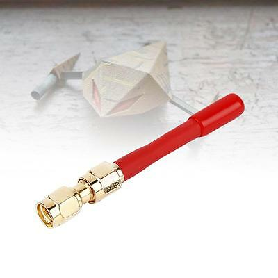 5.8G FPV Antenna with RP-SMA Male to SMA Female Adapter for Racing Drone FPV GP