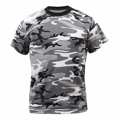 City Shirts (URBAN CAMOFLAGE CITY CAMO ROTHCO 6797 MENS TSHIRT CAMO T-SHIRT SIZES XS TO)