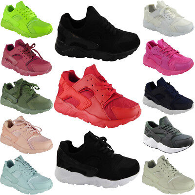 Ladies Trainers Womens Running Lace Up Comfy Fitness Gym Flat Sports Shoes Size