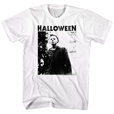 Top Halloween Horror Movies (Halloween Horror Movie Michael Myers Masked Men's T Shirt Scary Evil Villain)