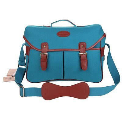Women's Canvas DSLR SLR Camera Bag Padding Case Shoulder Messager Bag For Nikon
