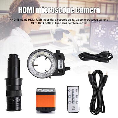 48mp Microscope Camera Hdmi Industrial Microscope Digital Video Camera