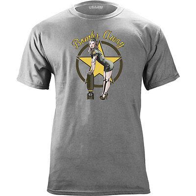 (Original Bombs Away Pin Up Vintage T-Shirt)