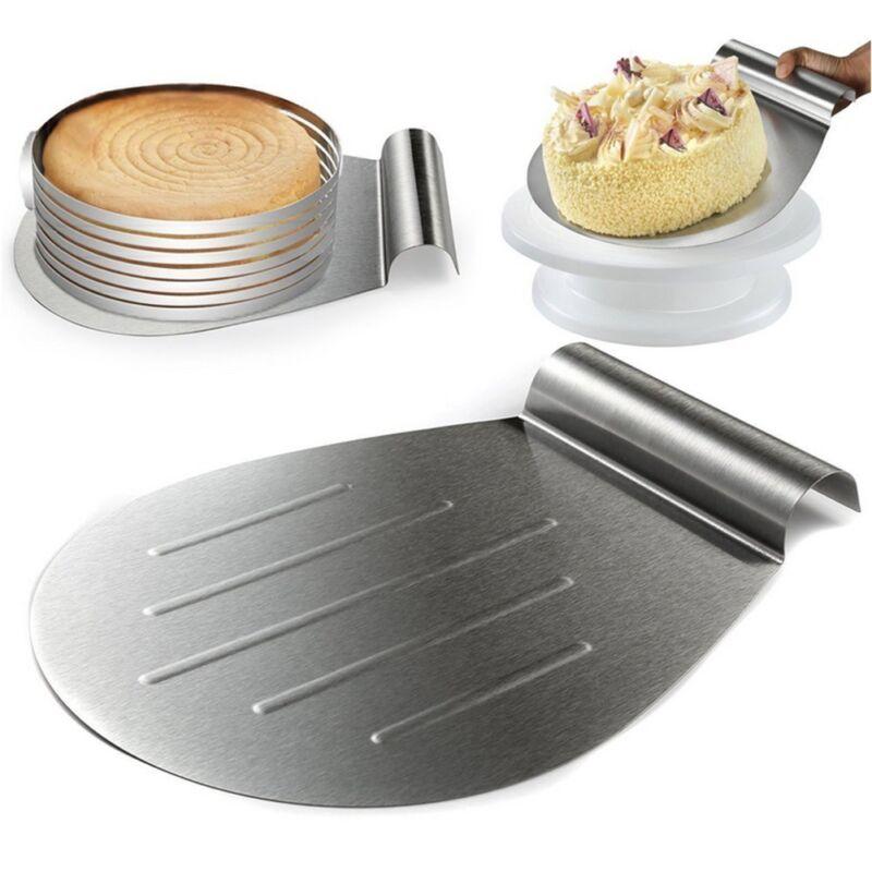 2x Tortenheber Edelstahl XL Kuchenschieber Tortenretter Cake Blade Tortenhelfer