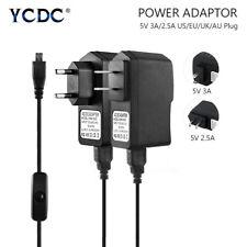 5V/3A 5V/2.5A Adapter Power Supply For Raspberry Pi 3 Model B B+ Pi 2 Pi Zero D