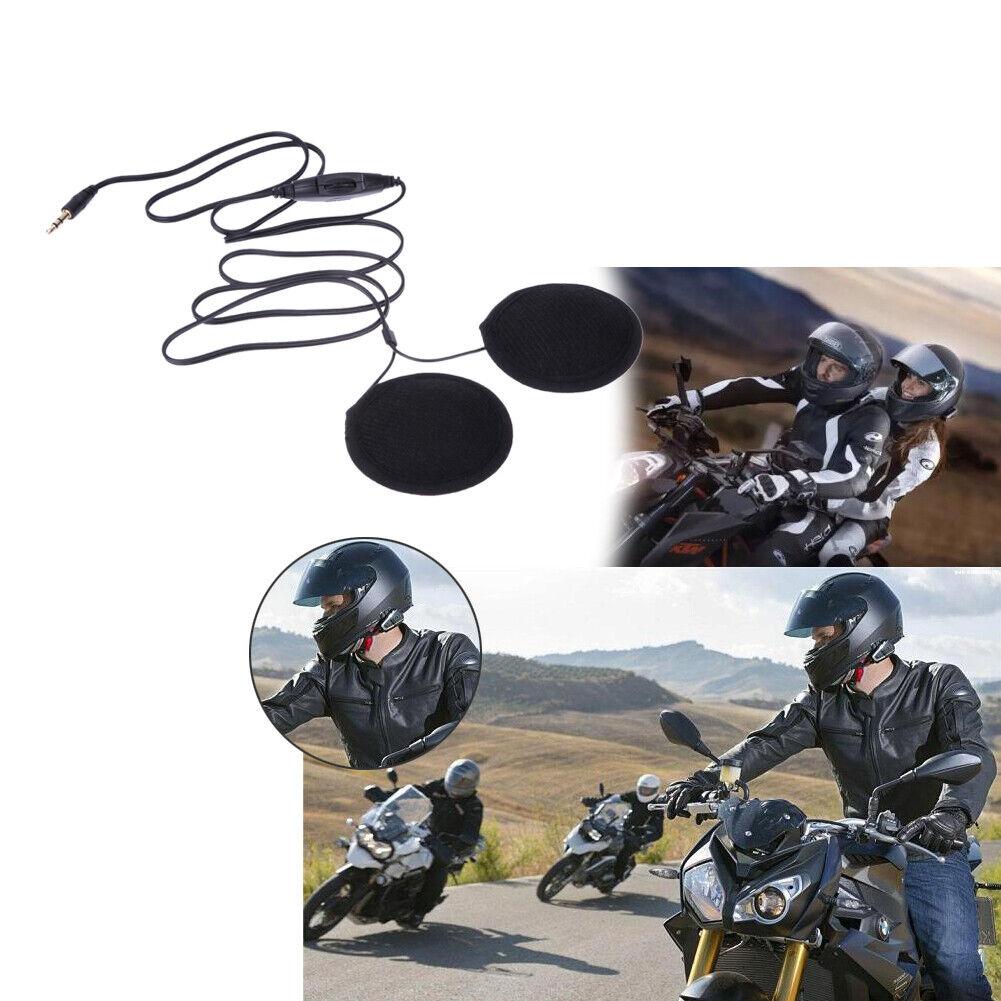 Motorcycle Helmet Earphone Speaker MP3 Headphone Radio Headset for Motorbike Mic