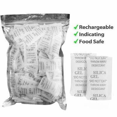 3 Gram 100 Packs Silica Gel Desiccant Safe Moisture Absorber For Storage Drying