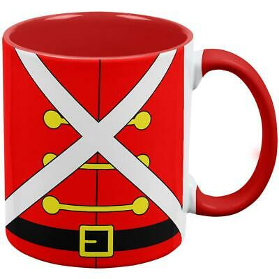 Christmas Toy Soldier Costume Red Handle Coffee Mug