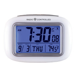 Cordless Atomic Digital Alarm Clock