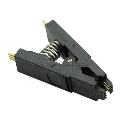 Clamp Pin (SOP SOIC 8 SOIC8 DIP8 DIP 8 SOP8 Pin IC Test Clamp Programmer Testing Clip)