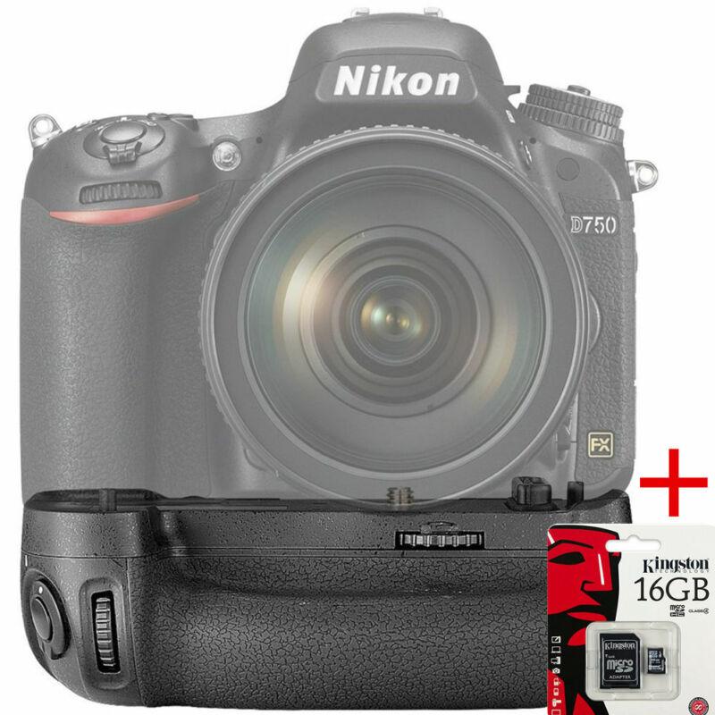 Brand New MB-D16 Multi Power Battery Pack Grip for Nikon D750 Battery Grips Kit