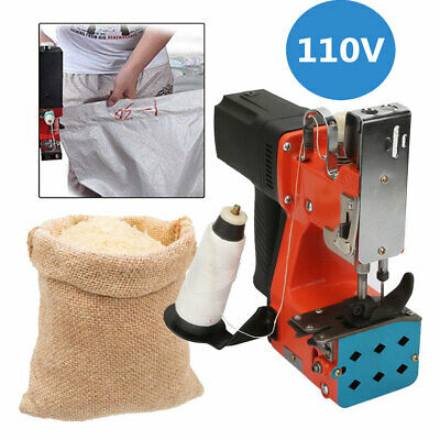 Portable Handheld Industrial Electric Bag Stitching Closer Seal Sewing Machine