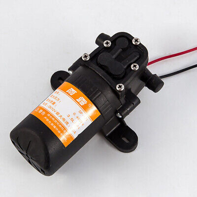 Electric Water Pump Micro High Pressure Diaphragm Water Sprayer Dc 12v 3.5lmin