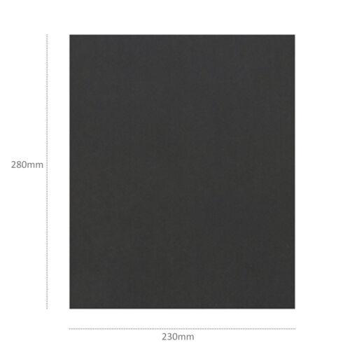"Wet Dry Sandpaper DIY Kraft Sheet 60-2000 Grit 9x11"" Waterproof Silicone Carbide"
