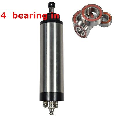 Four Bearing 0.8kw Er11 Water-cooled Spindle Motor Engraving Mill Grind Ce