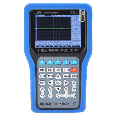 Jds3022e Handheld 2ch Digital Oscilloscope 50mhz 500msas Signal Generator Sg