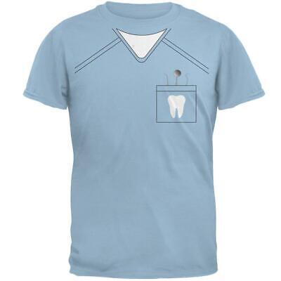 Halloween Dentist Scrubs Costume Light Blue Adult (Halloween Scrubs)