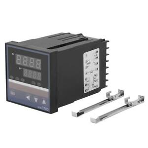 REX-C700 0-400℃ Digital PID Temperature Controller Thermocouple 220V DC4-20mA oe