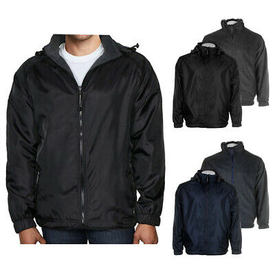 Maximos Men's LAX Water Resistant Reversible Jacket Clothing, Shoes & Accessories