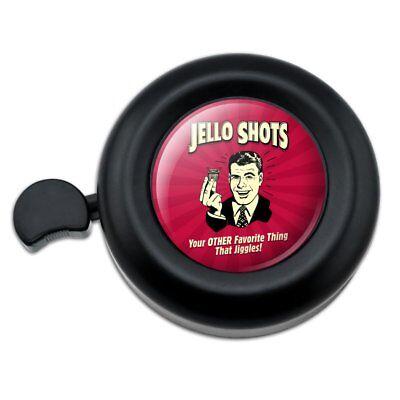 Jello Shot Other Favorite Thing Jiggles Handlebar Bike Bell (Jiggle Bells)