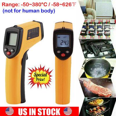 Non-contact Lcd Ir Infrared Digital Temperature Laser Thermometer Gun Pyromet A