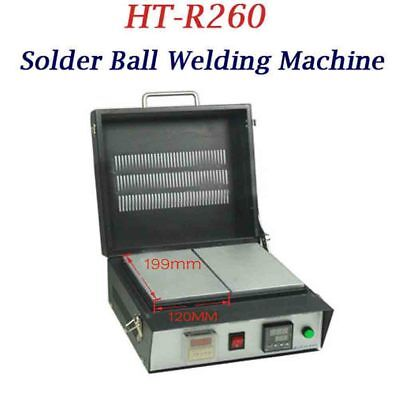 110v Bga Reballing Oven Hot Plate Ht-r260 Thermostat Solder Ball Welding Machine
