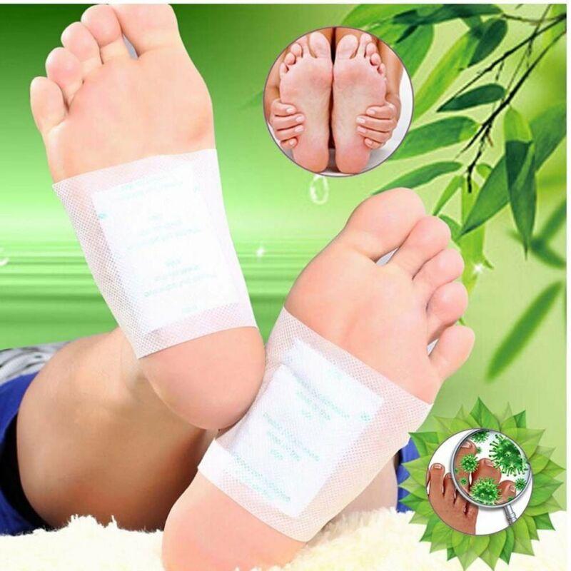 100 Pcs Detox Foot Pads Detoxify Toxins Adhesive Feet Patch Keeping Fit Health