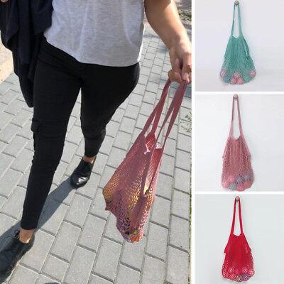 Wholesale Fruit String Shoulder Grocery Shopper Tote Mesh Woven Net Shoulder Bag