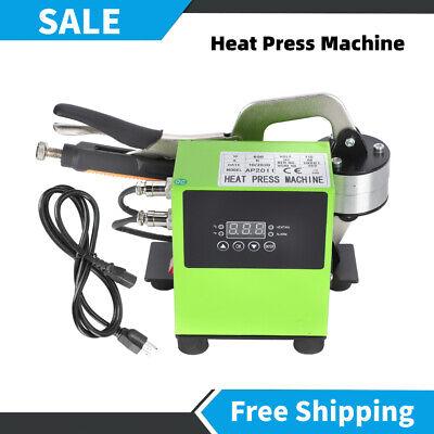 Portable Heat Press Machine Digpital Transfer T-shirt Rosin Printer Us Plug 110v