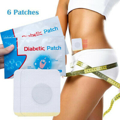 30pcs/5Bags Diabetic Patch Stabilizes Blood Sugar Balance Glucose Plaster US ()